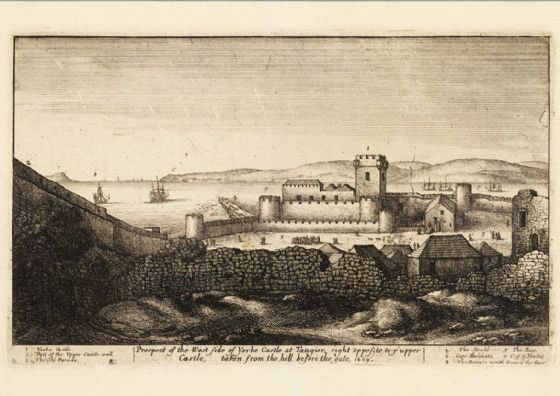 York Castle By Wenceslaus Hollar 17th Century Print/Poster (5437)